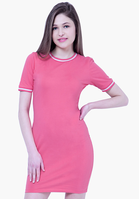 BASICS Tennis Dress - Pink