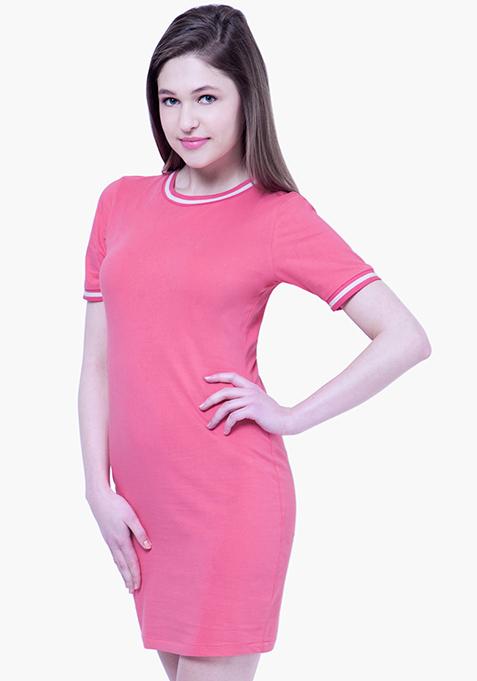 BASICS Tennis Dress - Pink