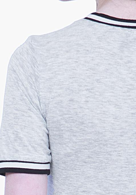 BASICS Tennis Dress - Grey