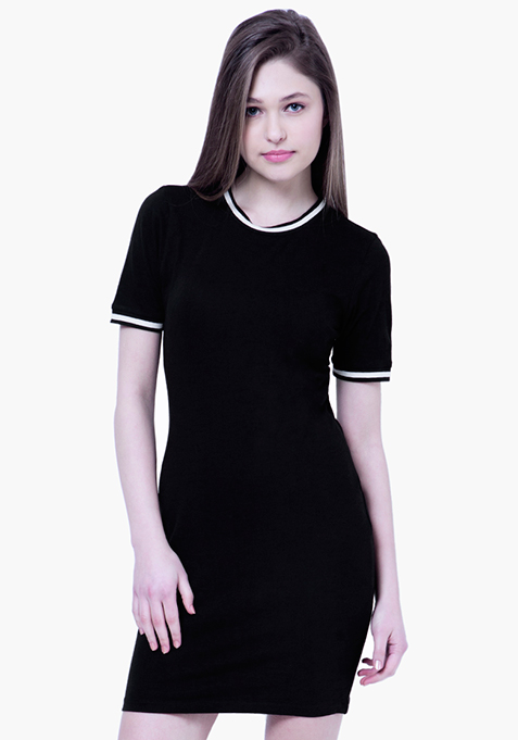 BASICS Tennis Dress - Black