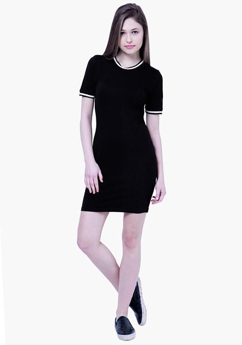 BASICS Tennis Dress - Black