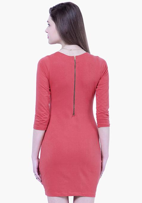 BASICS Coral Gal T-Shirt Dress