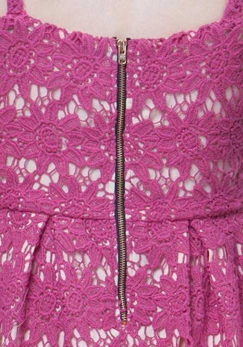 Dare Bare Nude Dress - Pink