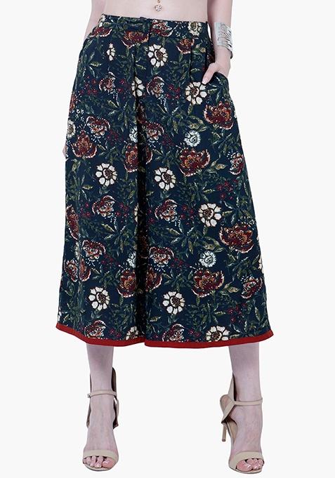 Floral Fame Culottes