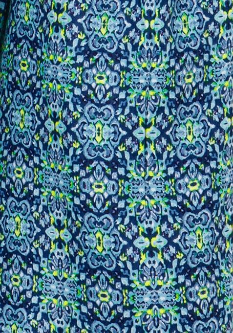 Blue Blast Culottes
