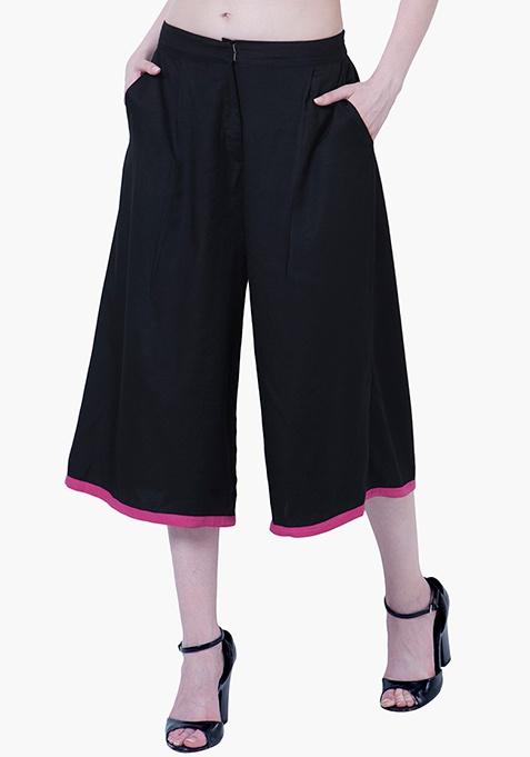 Black Classic Culottes