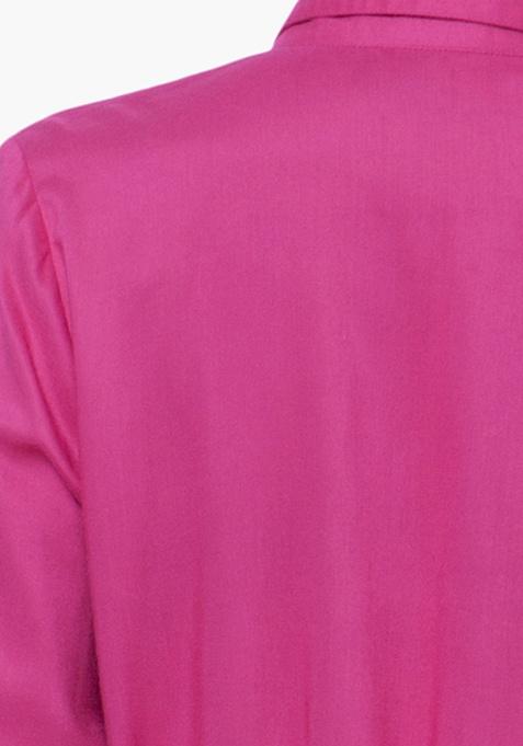 Fuchsia Finesse Shirt Tunic