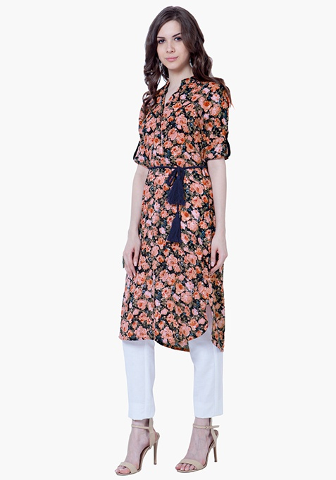 Floral Punch Tunic