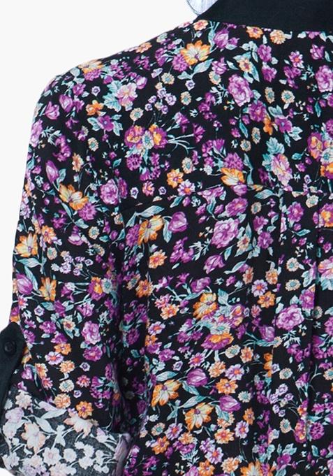 Floral Crush Tunic