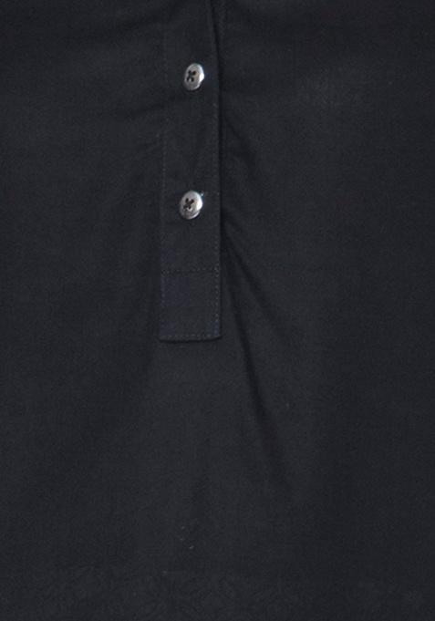 High-Low Tunic - Black