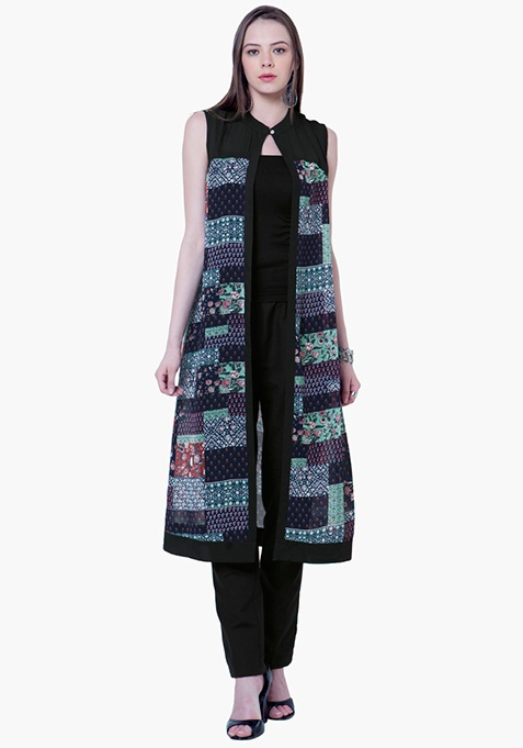 Sheer Grace Maxi Shrug - Multi