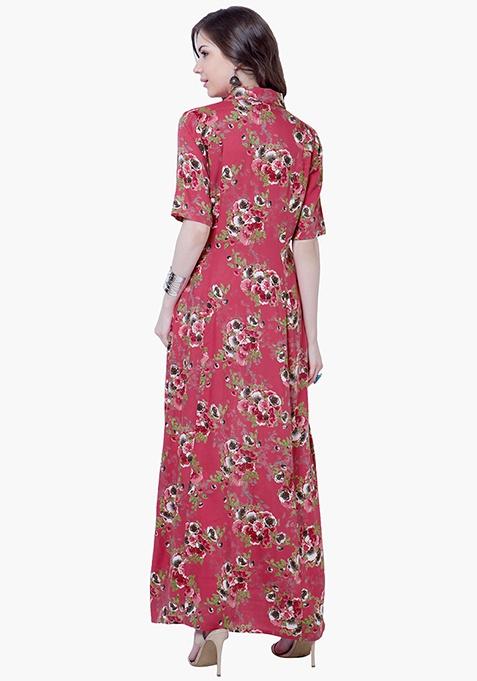 True Elegance Maxi Tunic - Floral