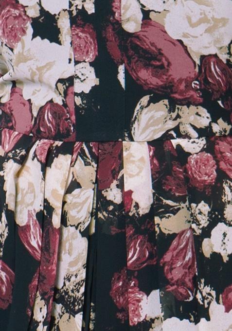 Sheer Maxi Tunic - Rose Bliss