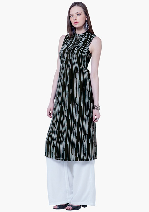 High Slit Tunic - Abstract
