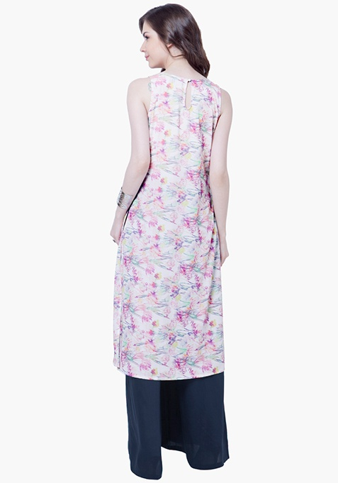 Summer Cool Floral Tunic