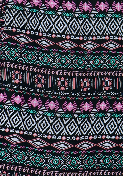 Maxi Slip Tunic Dress - Tribal
