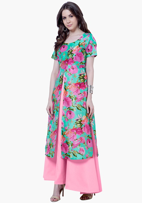 Silk Lush Tunic - Floral