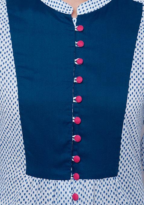 Glam Click Maxi Tunic - Dots