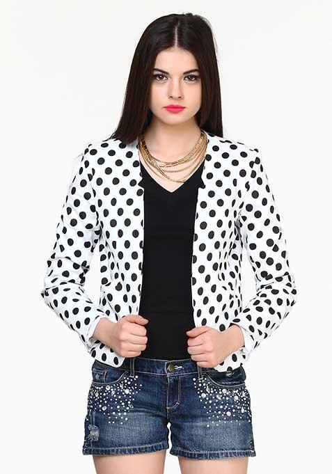 Bold Dots Blazer