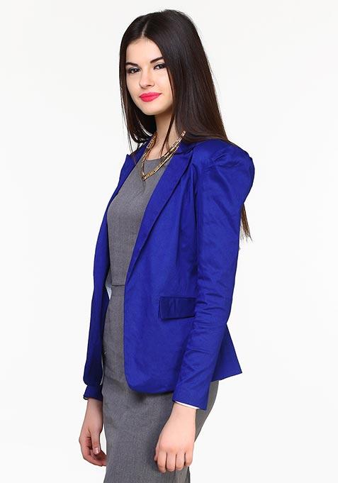Classic Cool Blazer - Blue