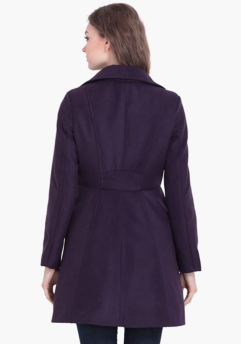 Skater Coat - Purple