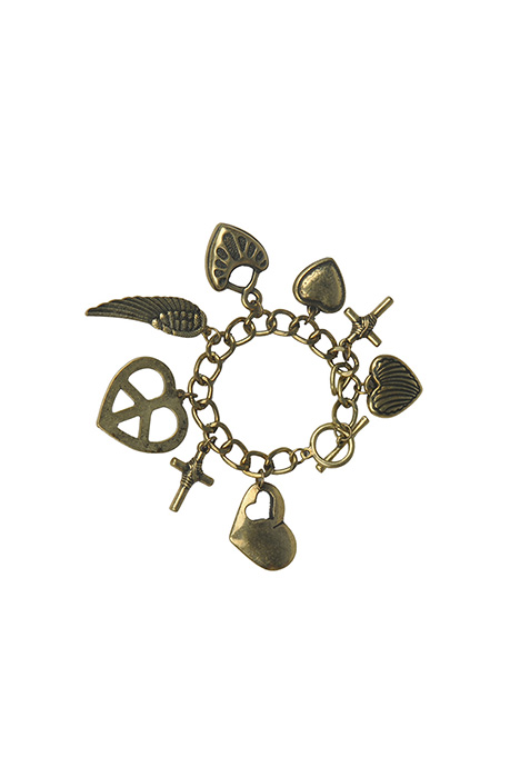 Gothic Charm Bracelet