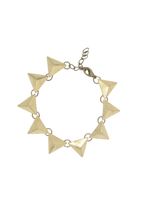 Gold Triangles Bracelet
