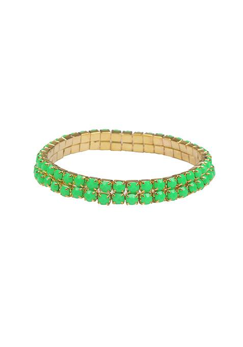 Mini Stones Green Bracelet