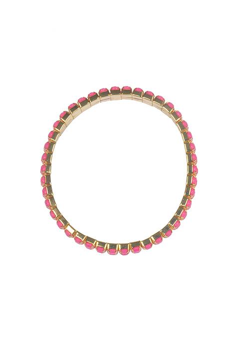 Mini Stones Pink Bracelet