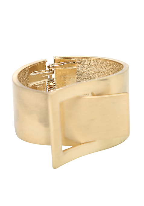 Buckle Up Gold Cuff