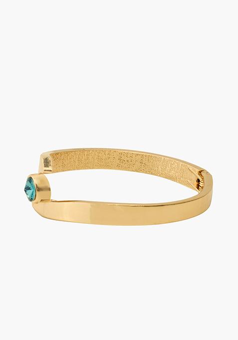 Blue Stone Gold Bracelet