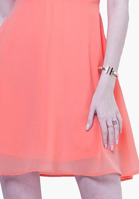 Gold Glam Bracelet