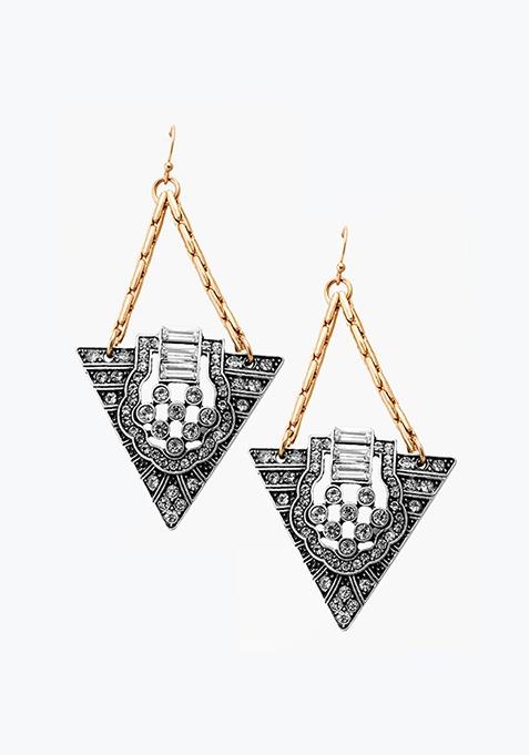 Melange Antique Earrings