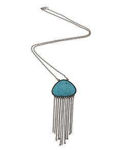 Turquoise Fringe Chain