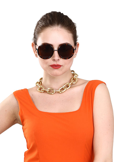Chunky Chain Gold Necklace