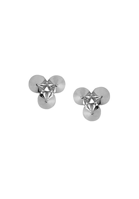 Silver Spikes Collar Tips