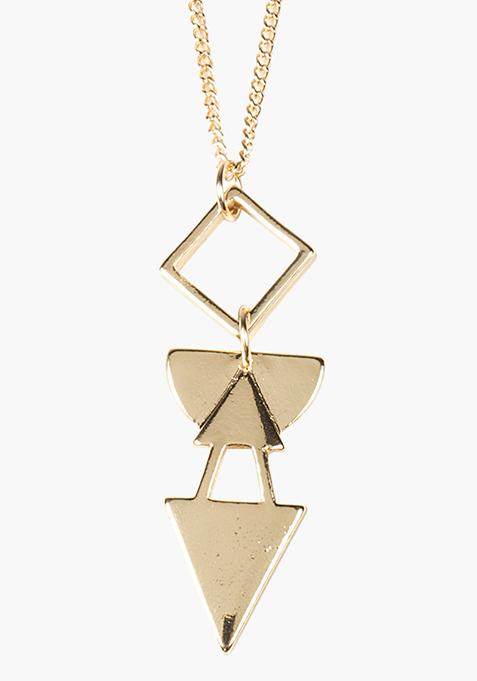 Gold Longline Necklace