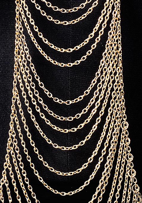 Gold Layered Body Chain