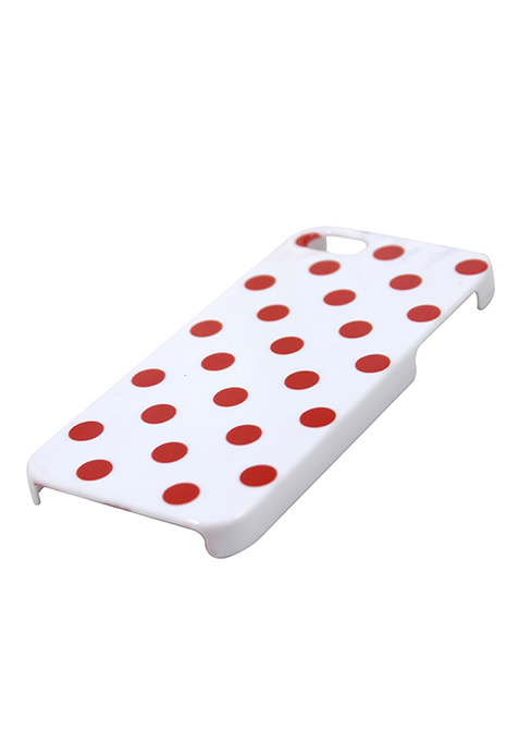 Dotted iPhone 5/5S Cover - Red