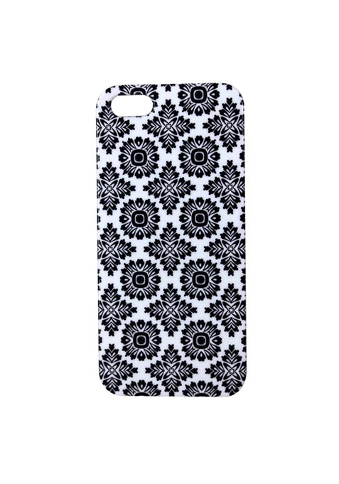 Geometric Floral iPhone 5/5S Cover