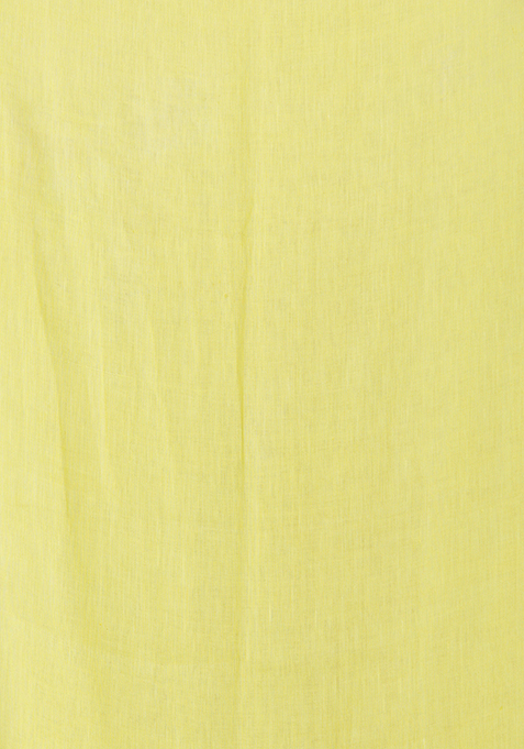 Yellow Embellished Scarf