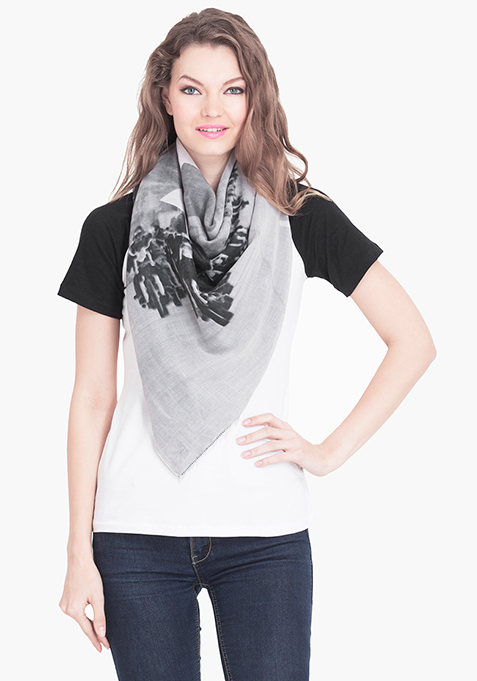 Double Side Printed Scarf