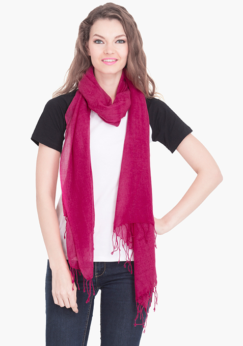 Flawless Pink Scarf