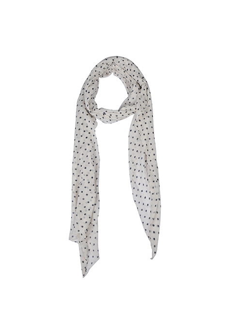 Faded Dots Scarf