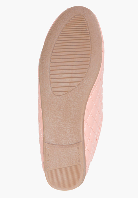 Pink Quilted Shoes