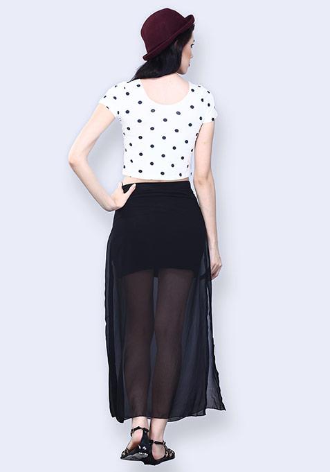 Midnight Mover Maxi Skirt