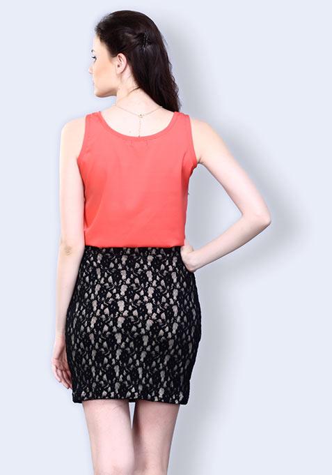 Lace Grace Mini Skirt