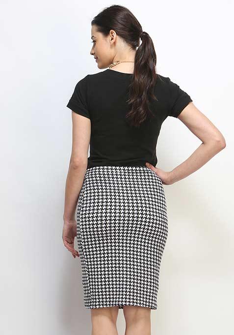 Chic Club Pencil Skirt