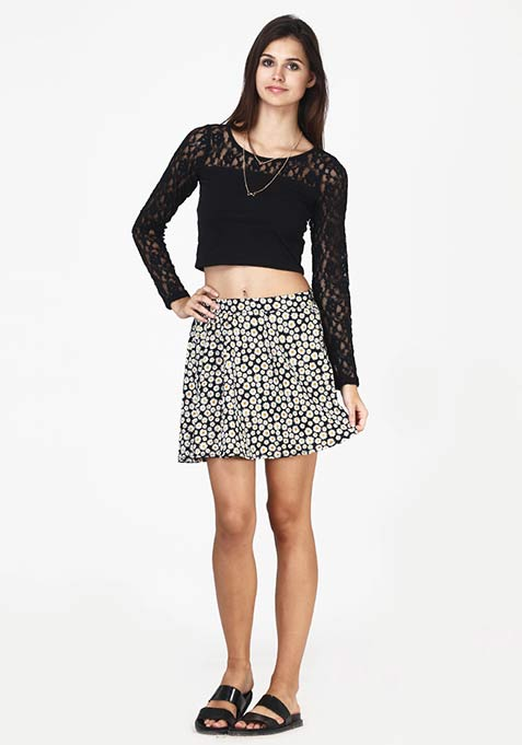 Daisy Dreams Skater Skirt