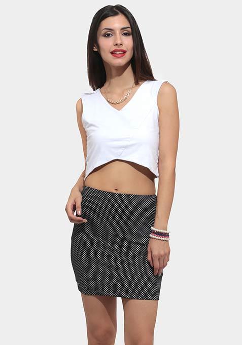 Hot Dots Mini Skirt